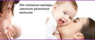 питание при кормлении грудным молоком