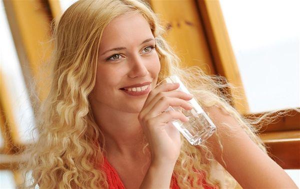 пей воду и худей